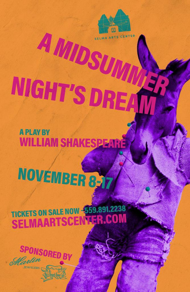 Auditions - A Midsummer Night's Dream @ Selma Arts Center