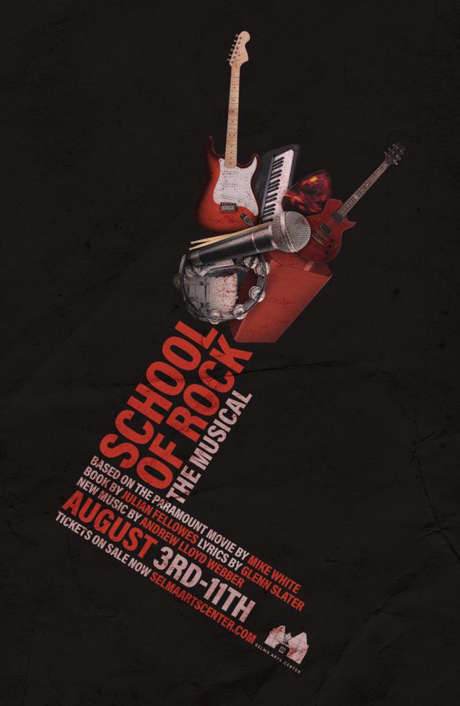 School of Rock the Musical @ Selma Arts Center